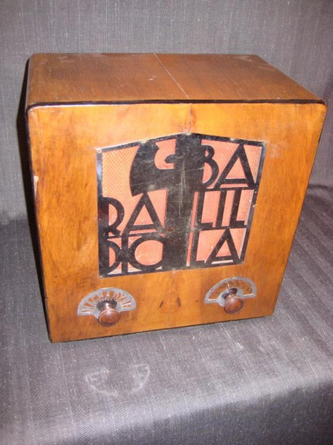 Magnadyne telaio N° 0-773B  Radio Balilla