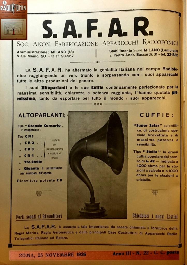 72 radiofonia 25 nov 1926