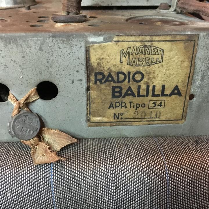 Balilla Radiomarelli 28