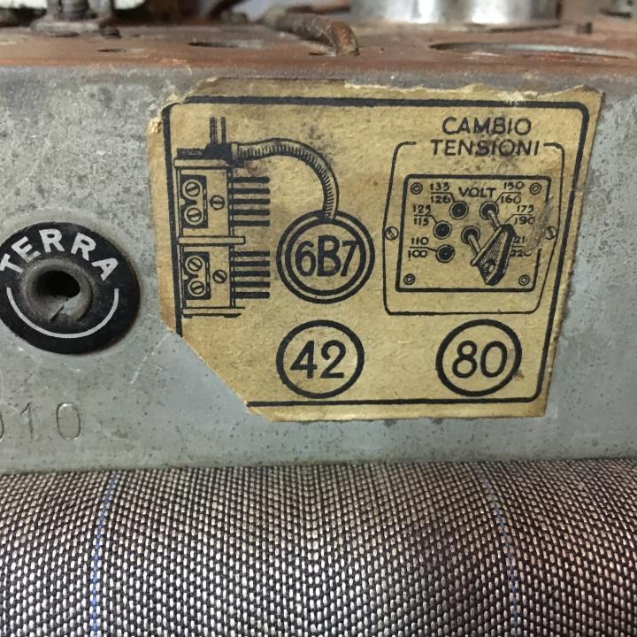 Balilla Radiomarelli 29