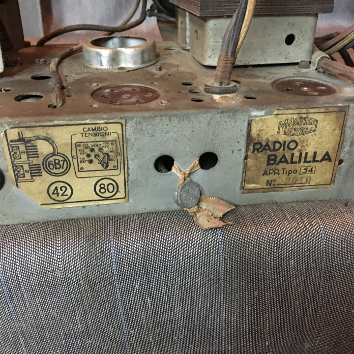 Balilla Radiomarelli 32