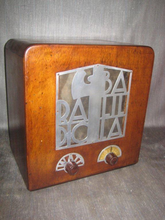 RADIO BALILLA WATT 04