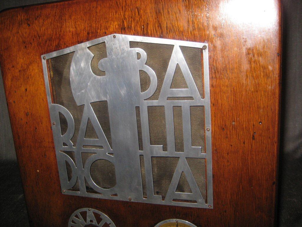 RADIO BALILLA WATT 07