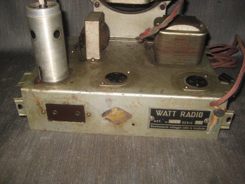 RADIO BALILLA WATT 21