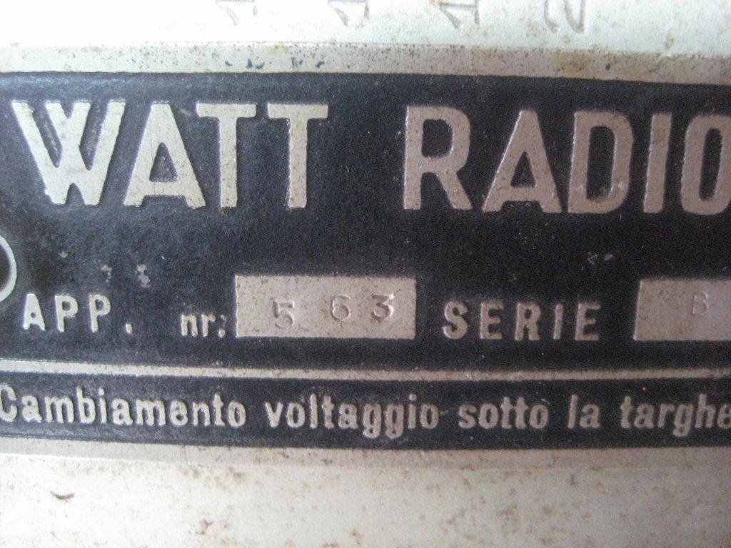 RADIO BALILLA WATT 28