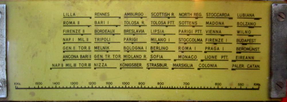 RADIO ROMA ALLOCCHIO BACCHINI 35