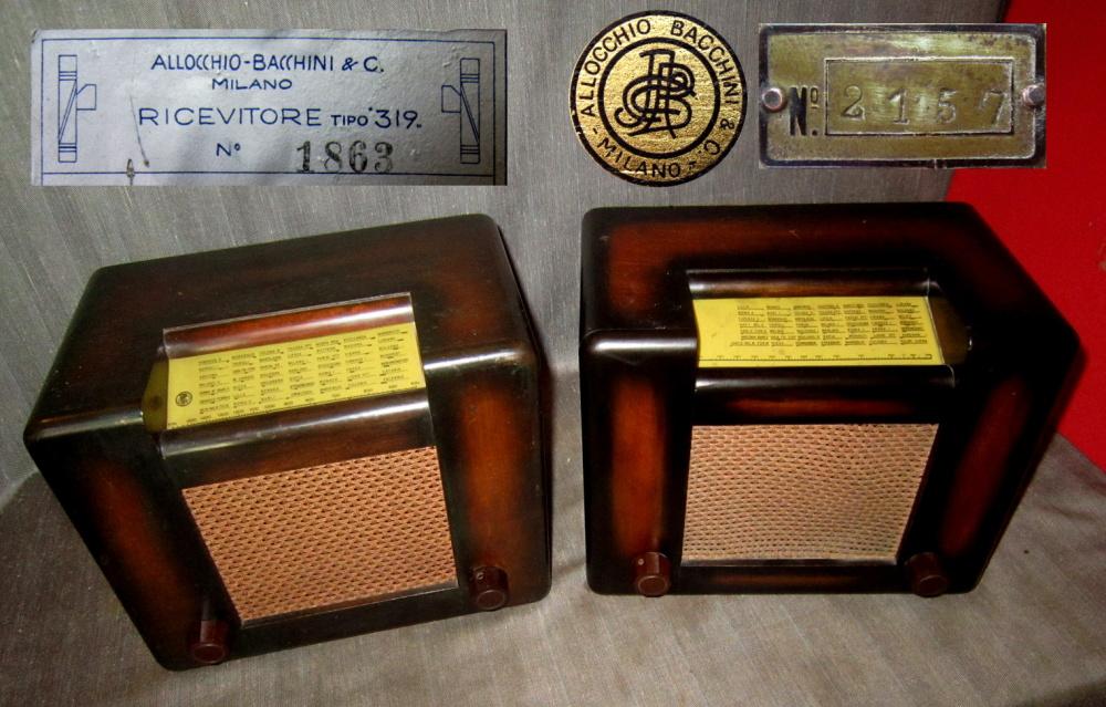 RADIO ROMA ALLOCCHIO BACCHINI 36
