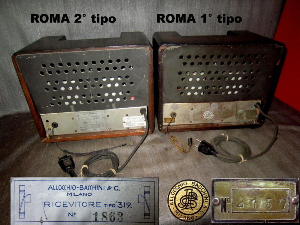 RADIO ROMA ALLOCCHIO BACCHINI 37
