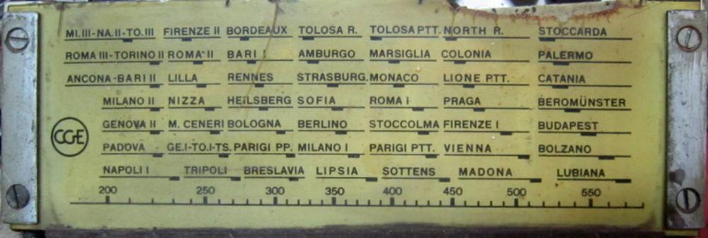 RADIO ROMA CGE 33
