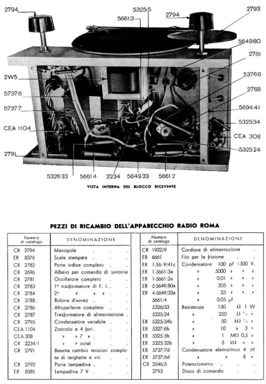 RADIO ROMA CGE 41