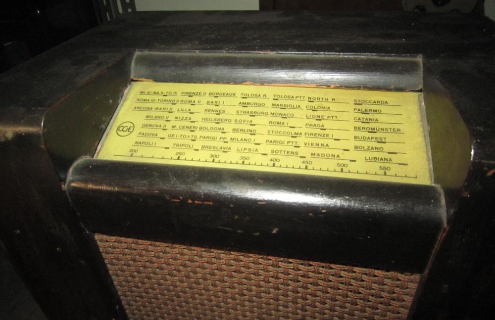 RADIO ROMA CGE 45