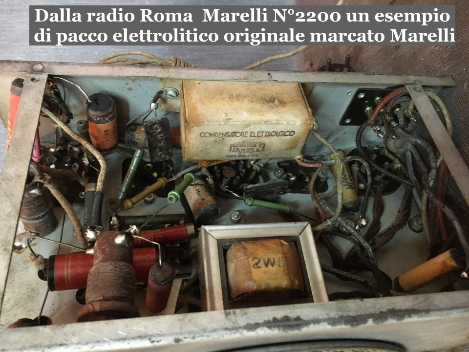 RADIO ROMA MARELLI 2200 28