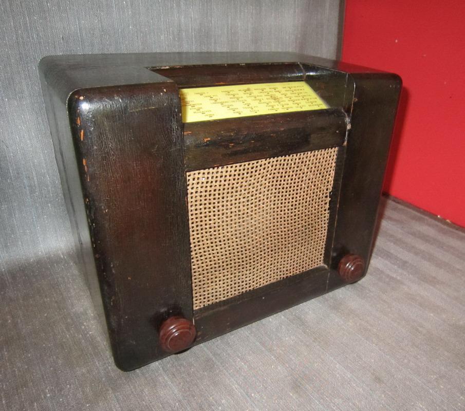 RADIO ROMA SAFAR 2° serie VALVOLE EUROPEE Telaio 3314