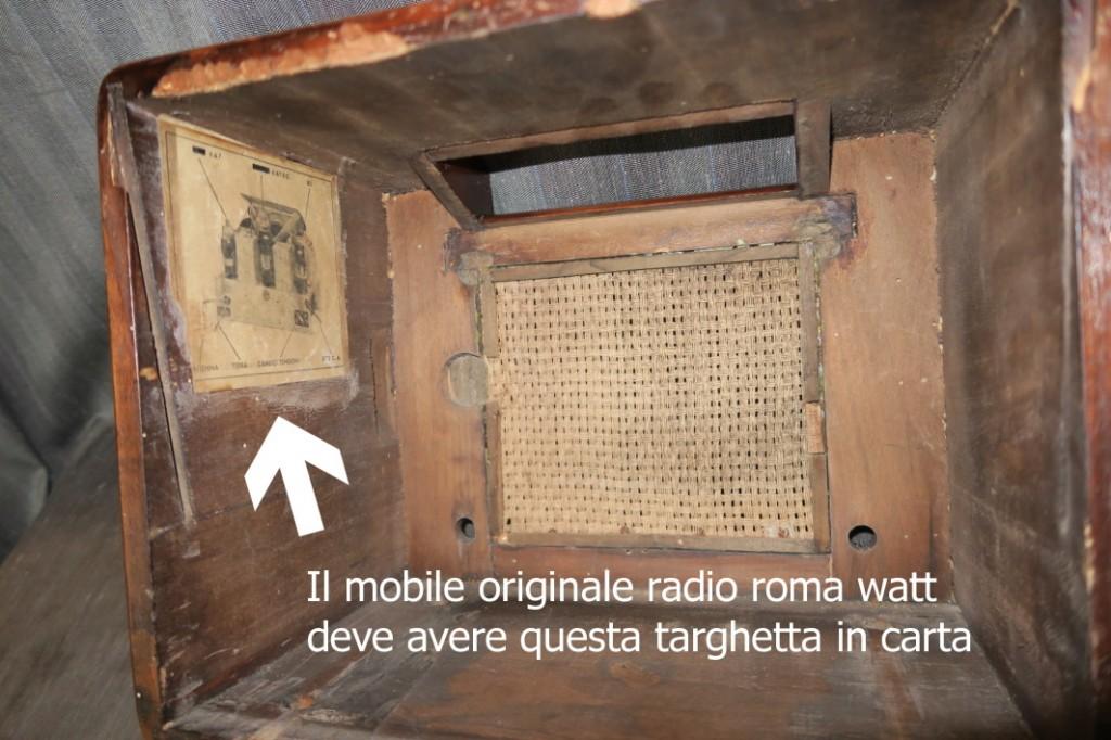 RADIO ROMA WATT 11