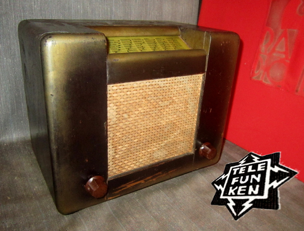 RADIO ROMA telefunken oro 09