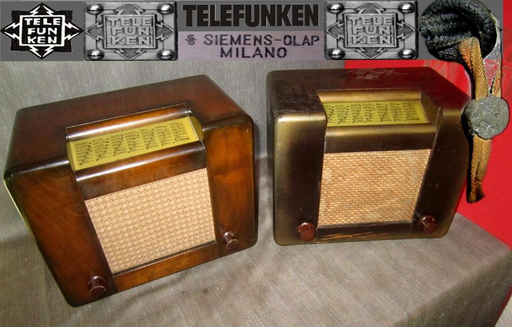 RADIO ROMA telefunken oro 10