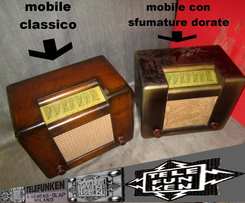 RADIO ROMA telefunken oro 11
