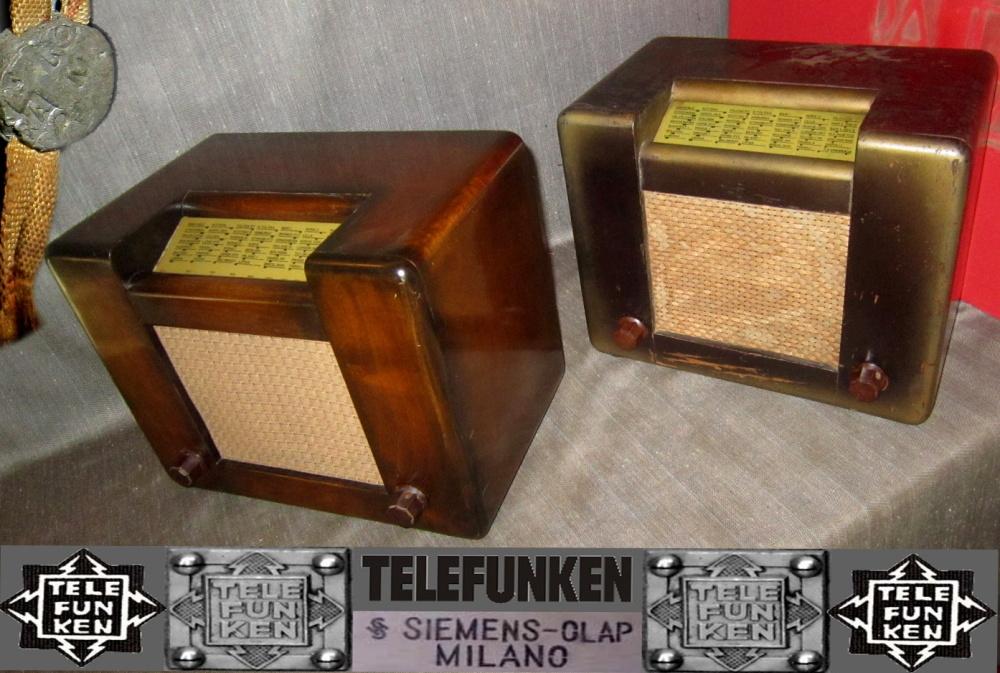 RADIO ROMA telefunken oro 12