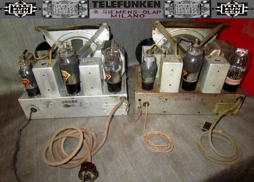 RADIO ROMA telefunken oro 17