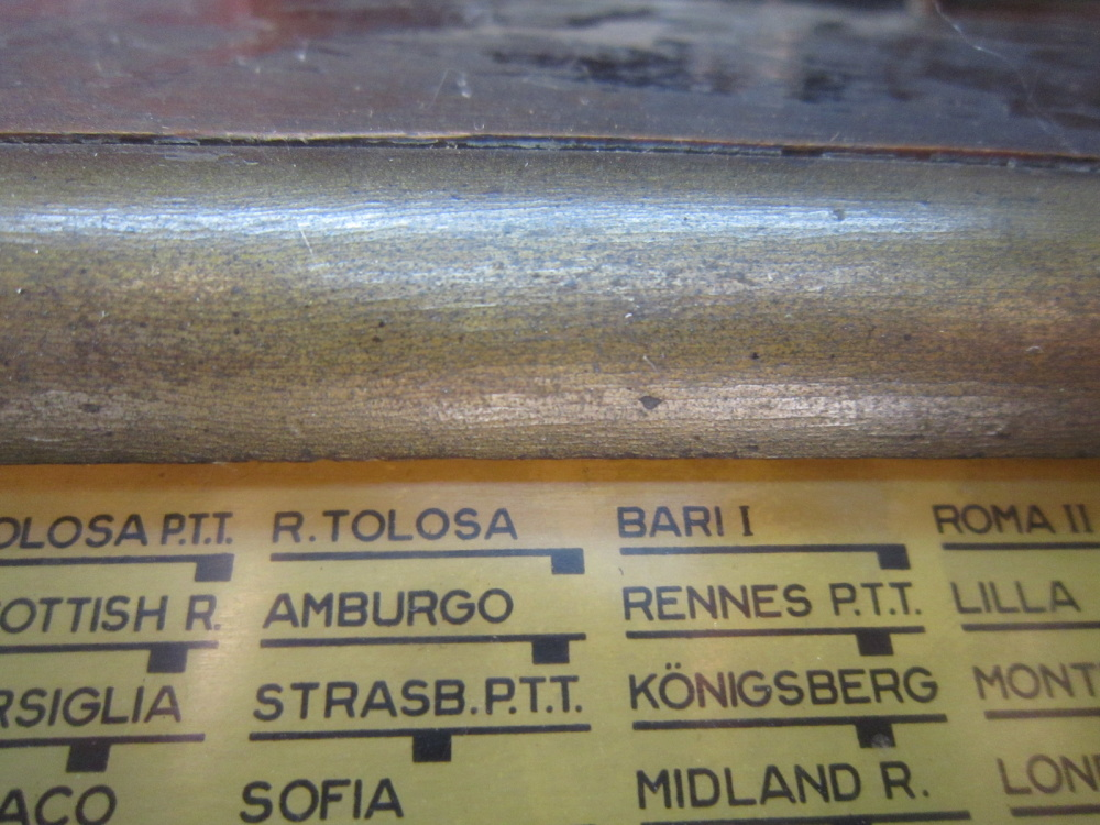 RADIO ROMA telefunken oro 23