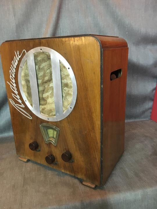 RADIO RURALE PHILIPS 528 AR 10
