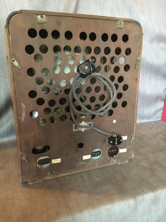 RADIO RURALE PHILIPS 528 AR 12
