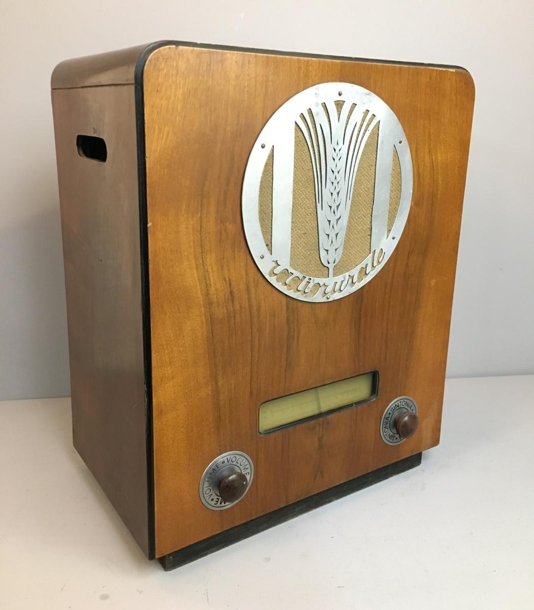 PHONOLA Radio rurale 1° SERIE fregio unico TELAIO 3678