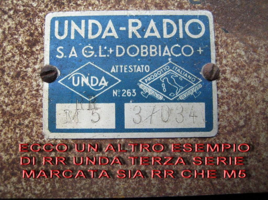 RADIORURALE UNDA 3 SERIE 23