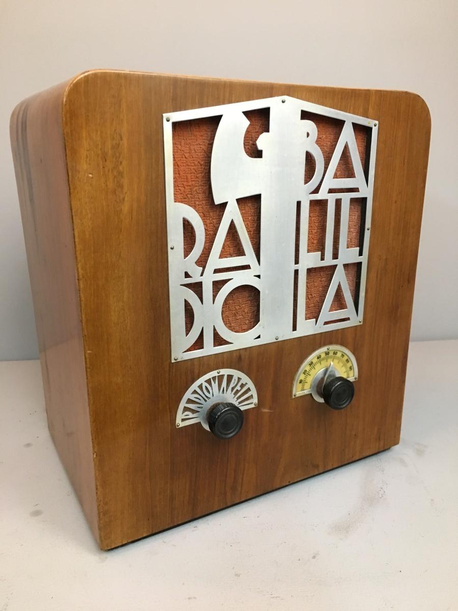 Radiomarelli mod RD 54 telaio N° 2375 fregi alluminio