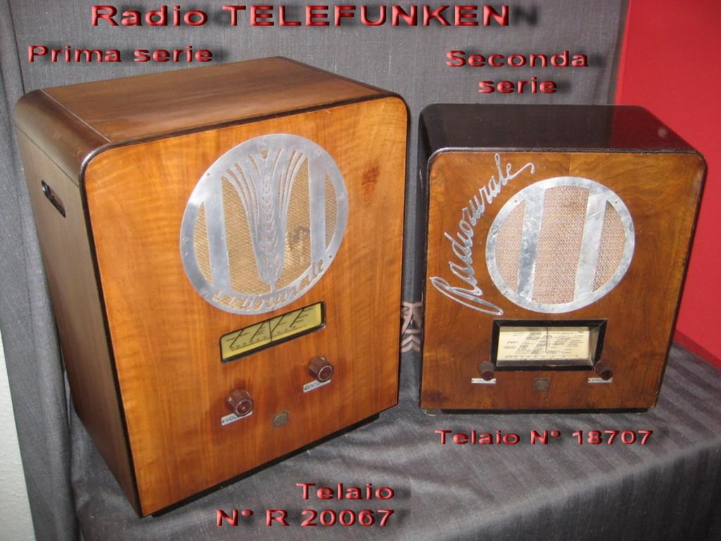 Radio rurale telefunken prima serie 2