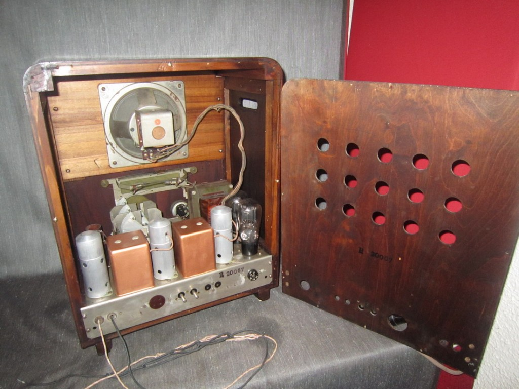 Radio rurale telefunken prima serie 25
