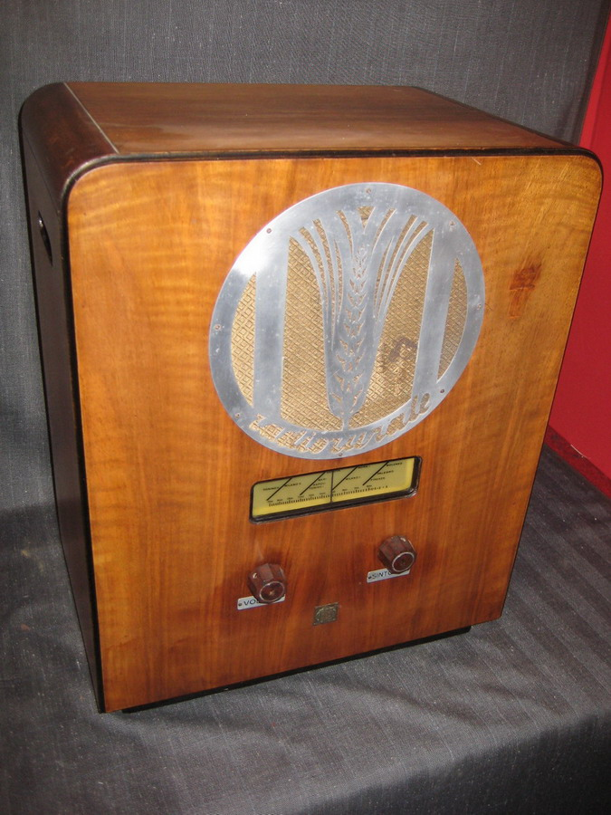 Radio rurale telefunken prima serie 3