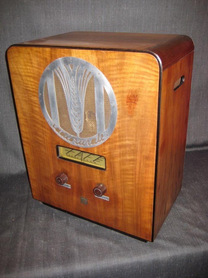 Radio rurale telefunken prima serie 4