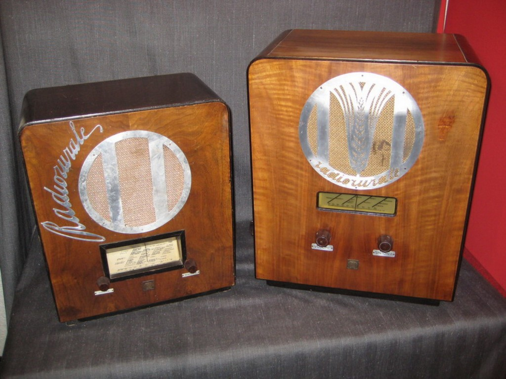 Radio rurale telefunken prima serie 50