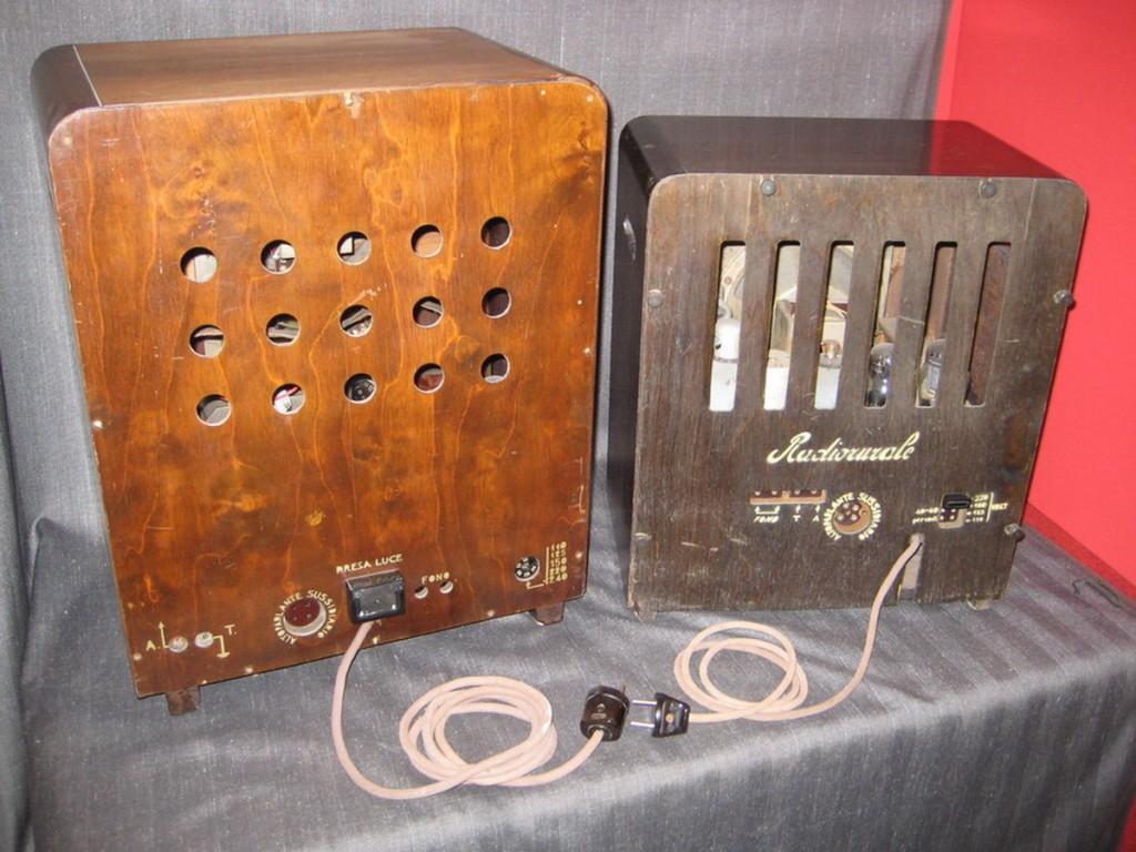 Radio rurale telefunken prima serie 51