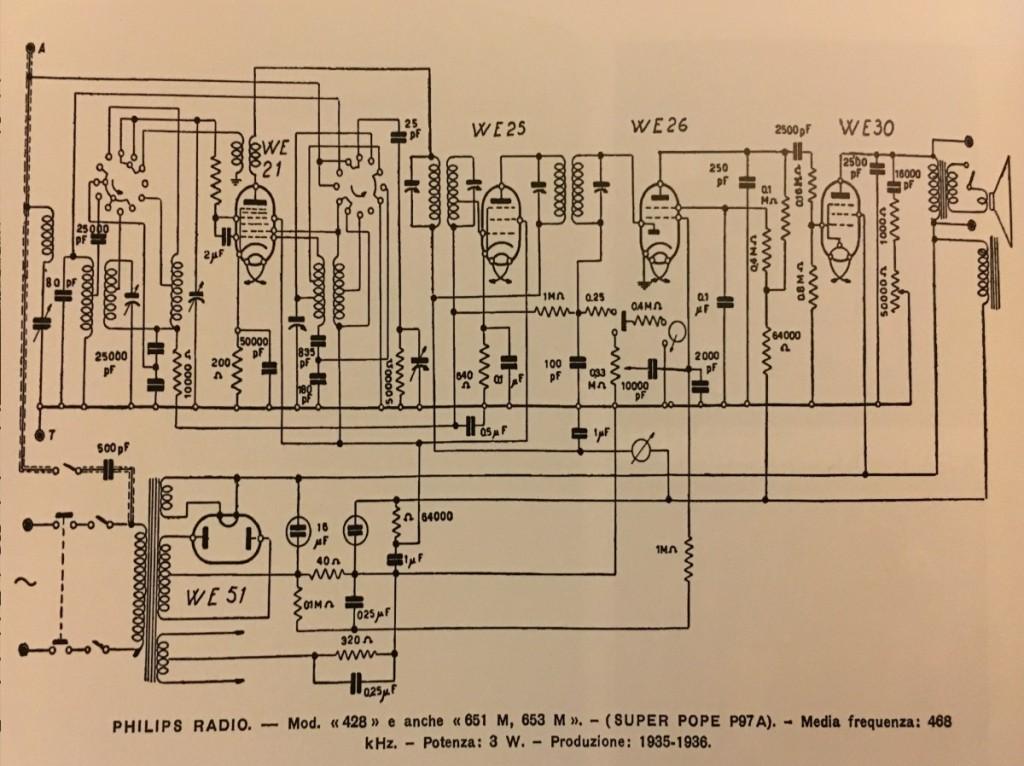 SCHEMA RADIO RURALE PHILIPS 651RR