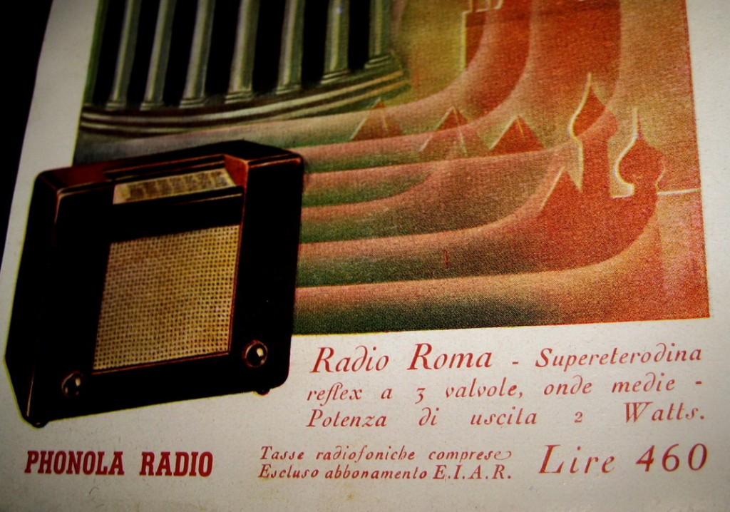 Vernice originale, Radio Roma alcune considerazioni