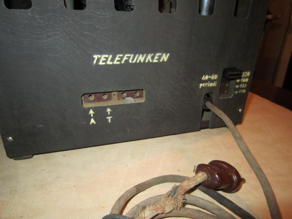 radio balilla telefunken 14