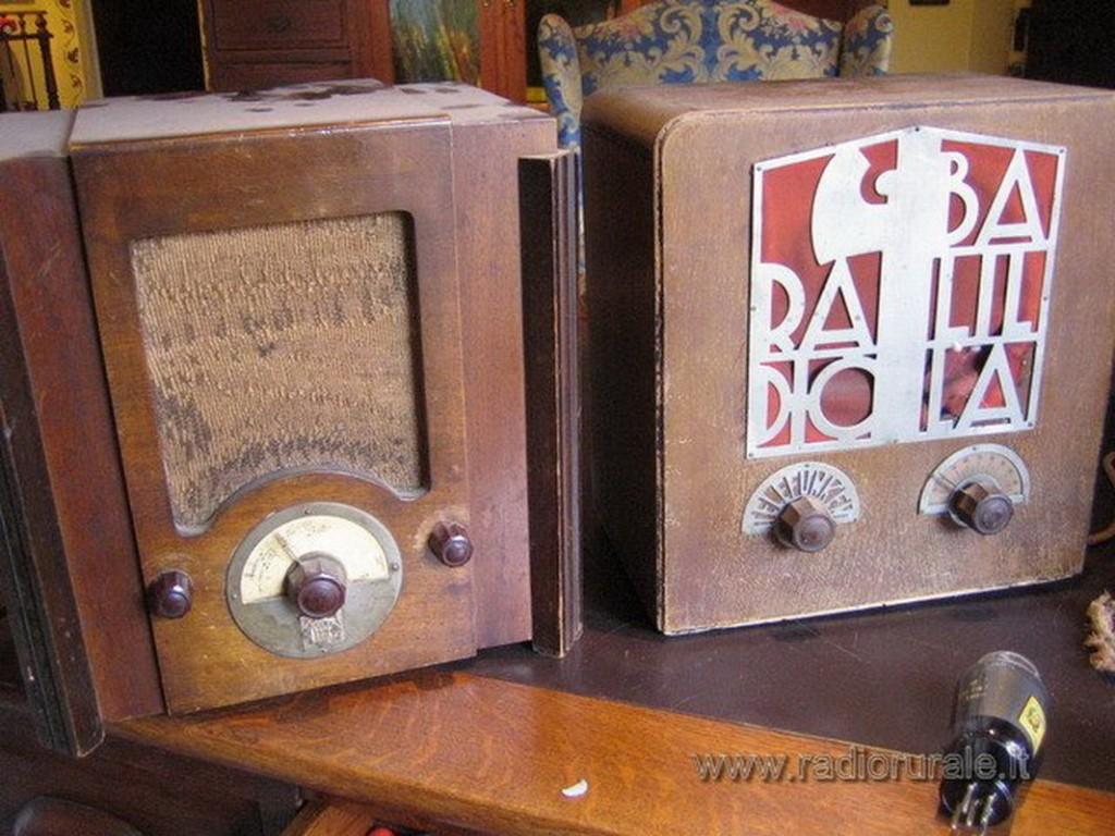 radio balilla telefunken 44