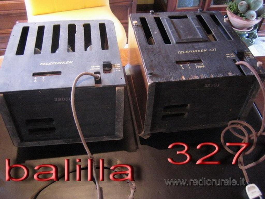 radio balilla telefunken 45