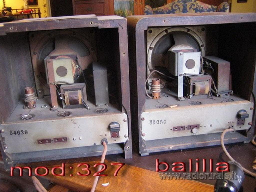 radio balilla telefunken 48