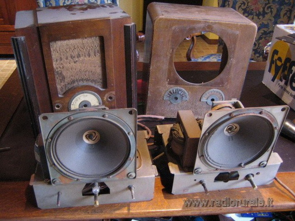 radio balilla telefunken 49