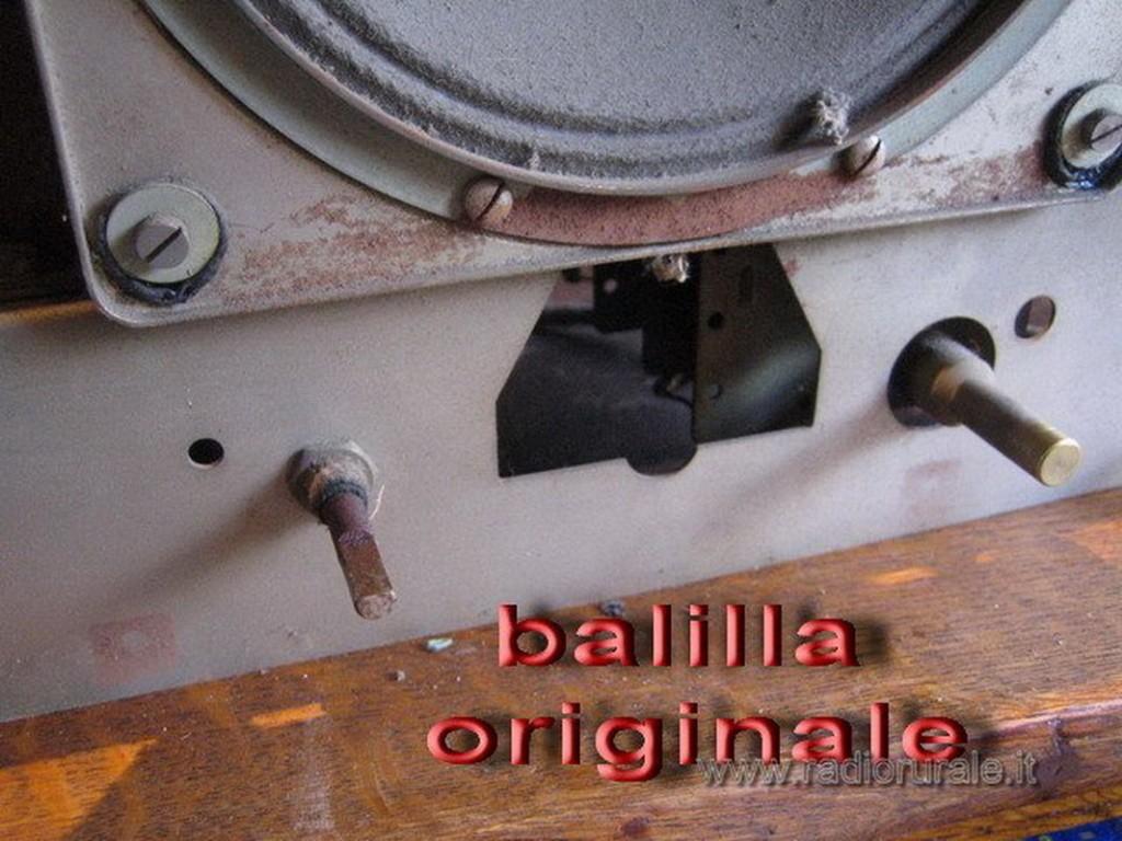 radio balilla telefunken 52