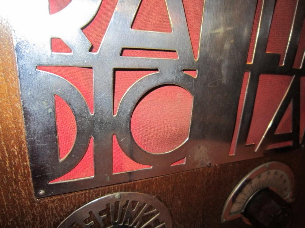 radio balilla telefunken 7