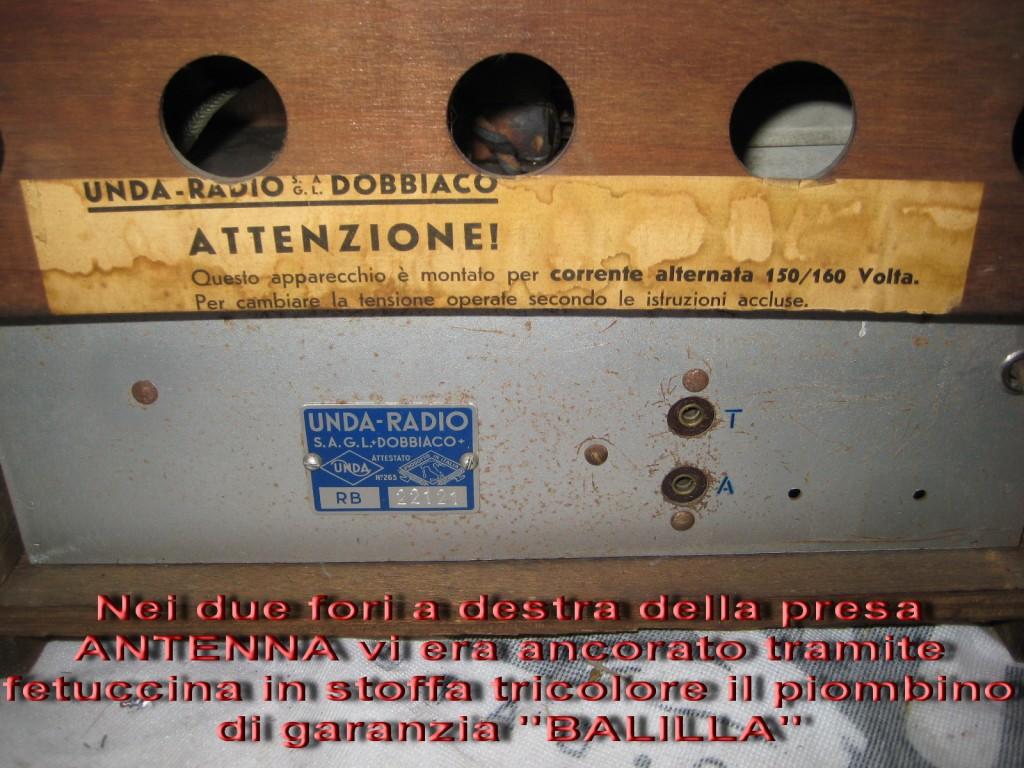 radio balilla unda 016