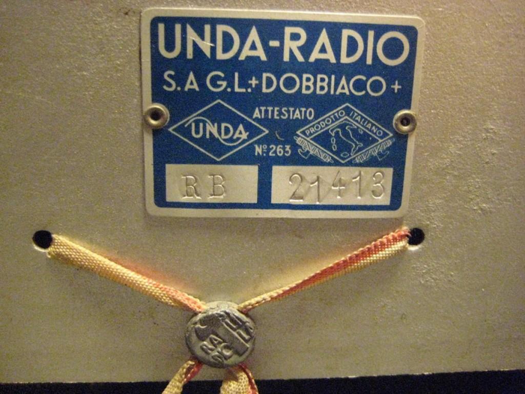 radio balilla unda 032