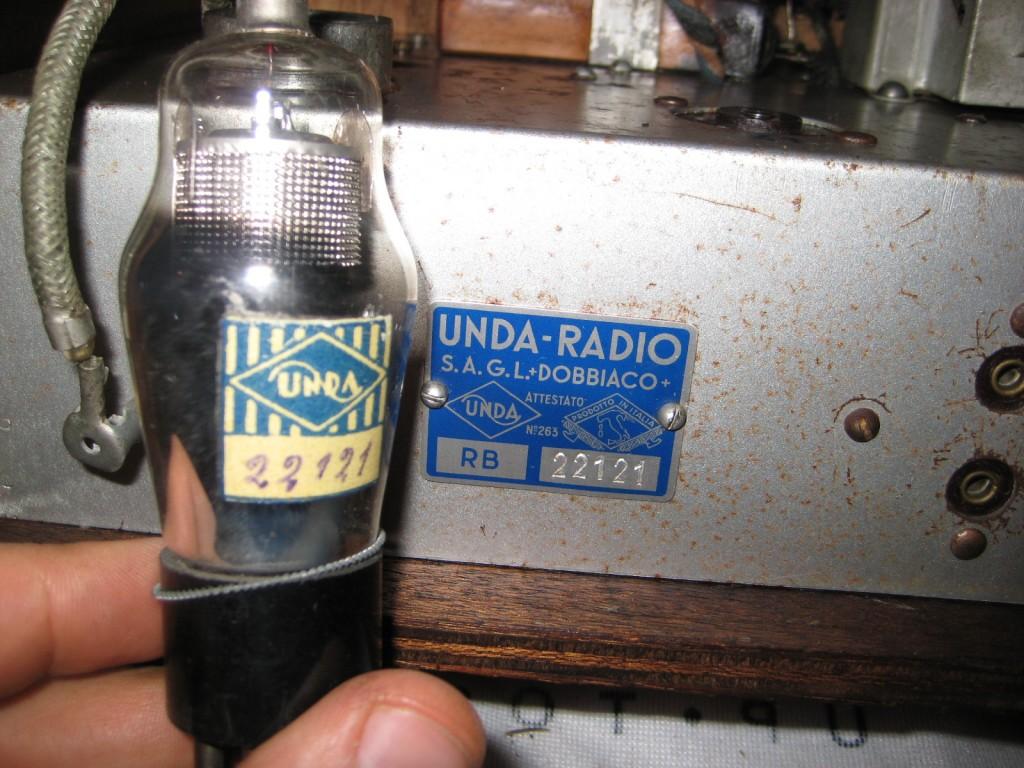 radio balilla unda 040
