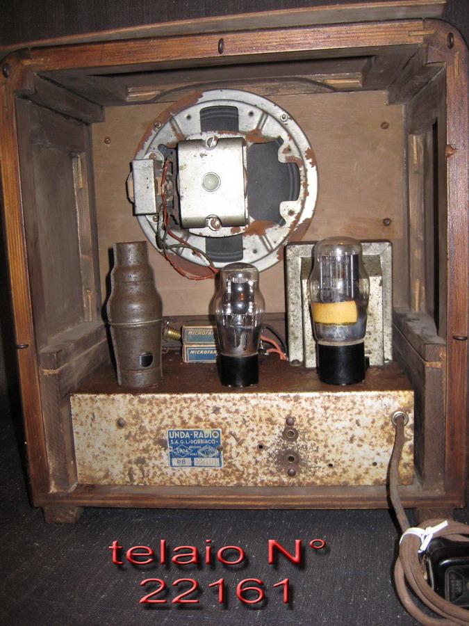 radio balilla unda 055