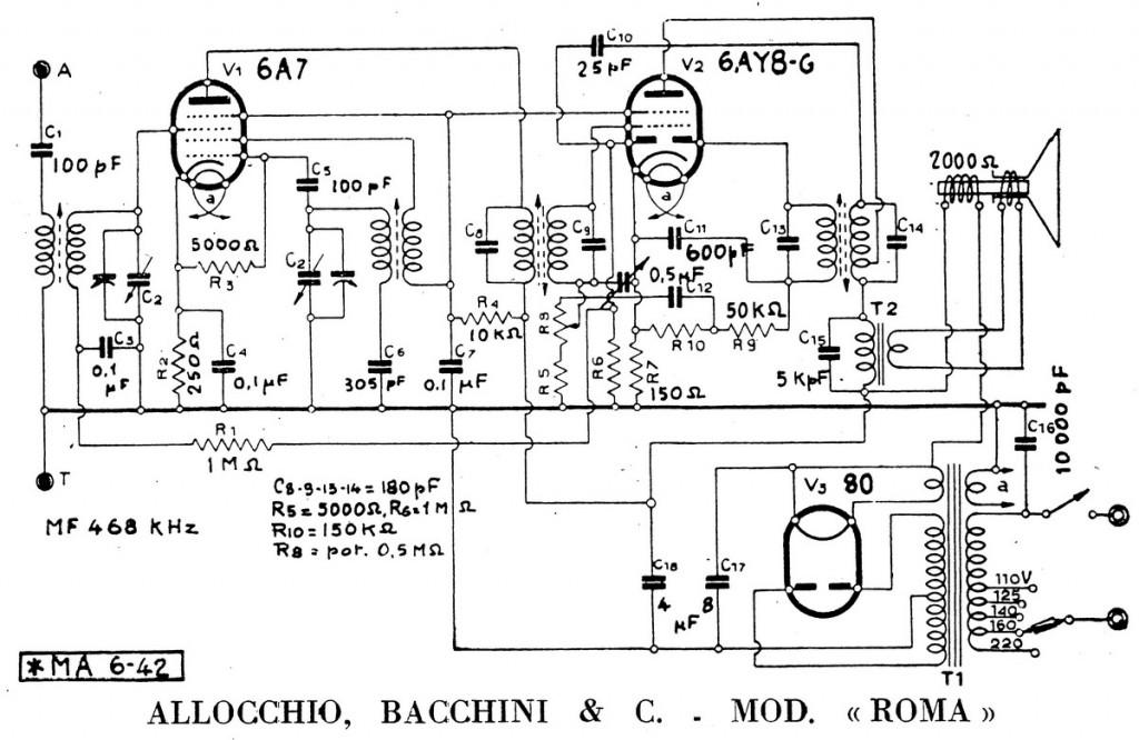 radio roma allocchio bacchini 68