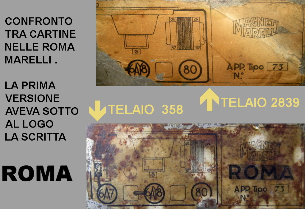 radio roma marelli 33